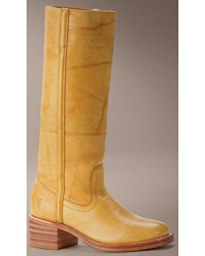 Frye Women's Campus Stitching Horse Boot Banana 8.5 M US