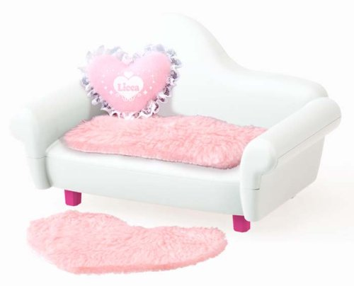 Interior white sofa Rika Rika-chan (japan import) Takara Tomy