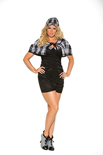 Women's Plus Size Sexy Detective Adult Role Play Costume - Sexy Adult Detective Costumes