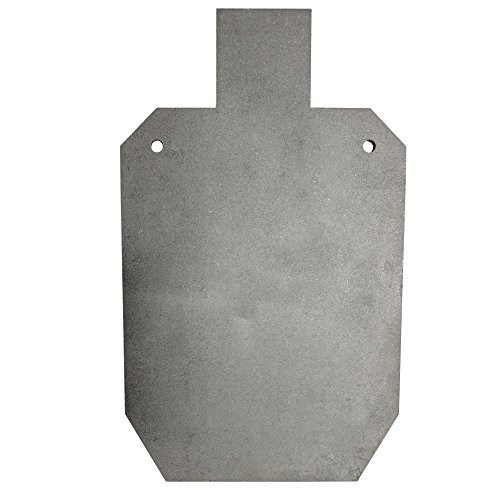 Titan AR500 Silhouette Style Steel Plate Shooting Target 20'x12' 3/8' Thick (20' x 12' (Single))