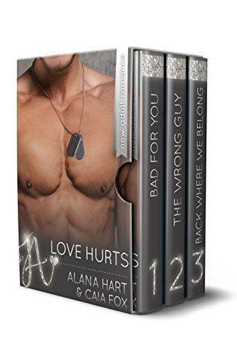 Love Hurts (three new adult billionaire romance novels)