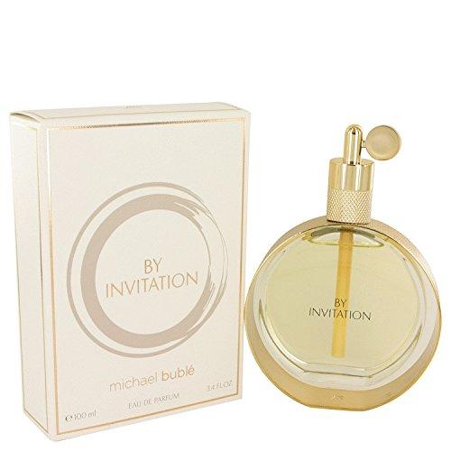 By Invitation Perfume by Michaél Búblé 3.4 oz Eau De Parfum Spray For - Invitation Woody