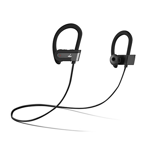 Wireless Anti-noise Technology Stereo Bluetooth Headset (Black) - 9