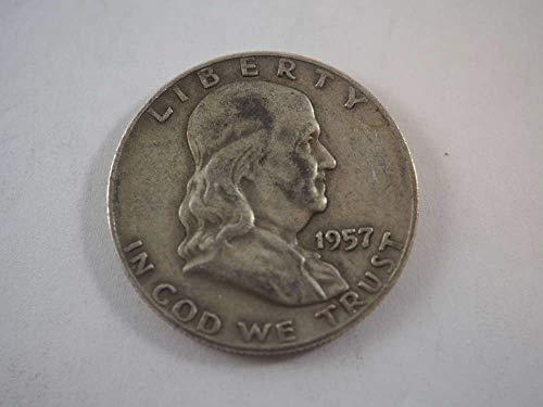 1957 D Franklin Half Dollar Half Dollars ()