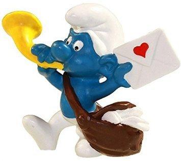 Schlelich - The Smurfs - 1978 - Postman Smurf (Brieftrager)