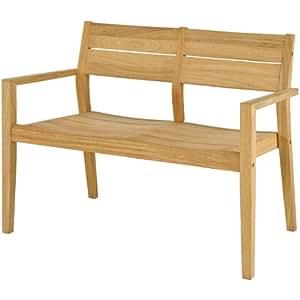 Alexander Rose Tivoli 110cm 2 Seater Bench - Garden Bench - Wooden Bench - 2 Seater Bench