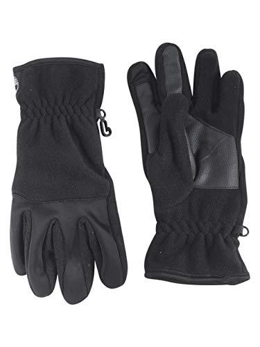 (Timberland Men's Performance Fleece Glove with Touchscreen Technology, black, XL)
