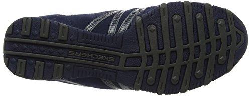 Skechers Bikers Hot-Ticket Ballerina - Zapatillas de deporte para mujer Azul (Navy)