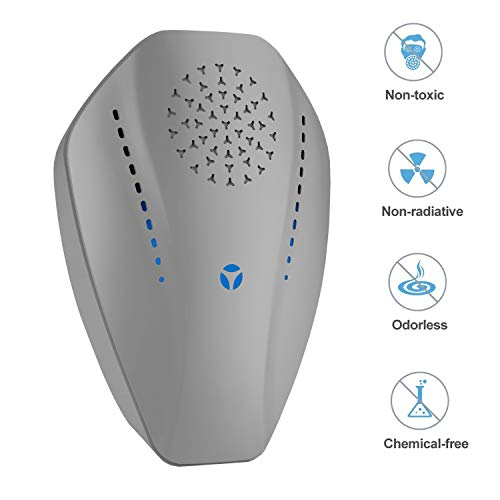 HusKitchen Ultrasonic Pest Repeller Plug in Pest Reject, Electric Pest Control Repellent for Mosquito, Bugs, Rat, Ant, Mouse, Spider, Cockroach, Flea, No Traps Poison & Sprayer