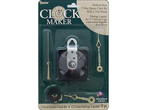 Darice Clock Kit Med Stem ()