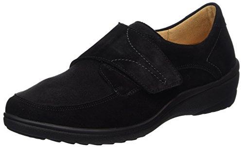 Ganter Sensitiv Helga-H, Zapatos de Cordones Derby para Mujer, Schwarz (Schwarz 0100), 36 EU