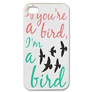 Cool Painting Bird Original New Print DIY Phone Case for Iphone 4,4S,personalized case cover case567104