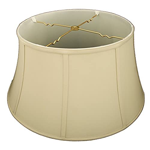 Royal designs shallow drum bell billiotte lamp shade beige 13 x 19 x 11 25
