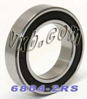 6804 Open Bearing 20x32x7 Ball Bearings