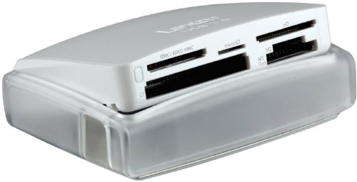 Lexar Multi-Card 25-In-1 USB 3.0 Reader - LRW025URBNA - One High Speed Usb