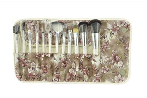 Makeup tools professional makeup brush set with colorful case for beauty lady, women brush set 12pcs brush set