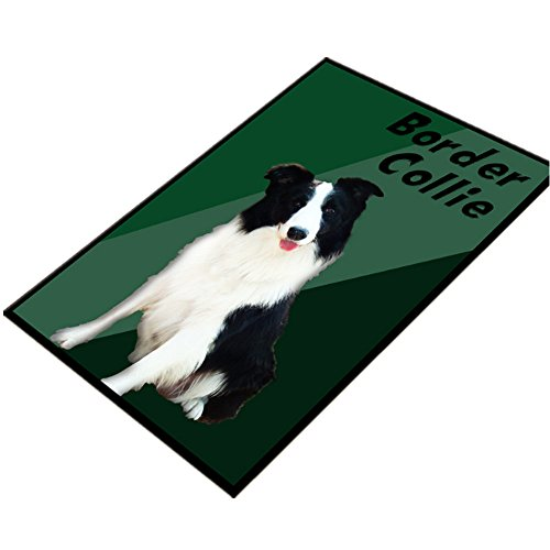Ustide Soft Comfy Border Collie Dog Rugs Animal Cute Puppy D