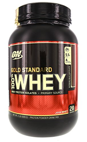 OPTIMUM NUTRITION 100% WHEY GOLD,XTRM CHOC, 2.0 LB