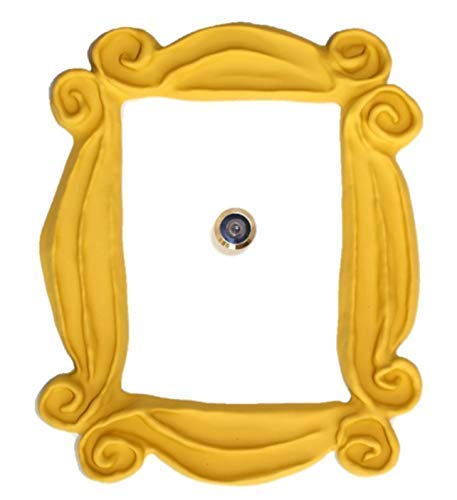 Comprar Marco de la mirilla para la puerta. Réplica artesanal para tu entrada, como la que tenían en la serie Monica y Rachel. For your best friends.