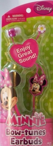 Disney Minnie Mouse Bow-tunes Earbuds