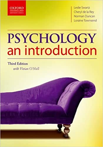Book Psychology: An Introduction Oxford Southern Africa