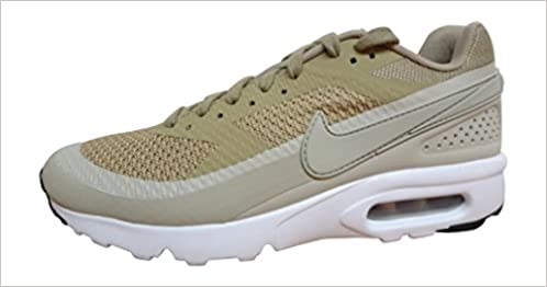nike Air Max BW Ultra SE Mens Running Trainers 844967 Sneakers Shoes (US 8.5 khaki pale grey 200)