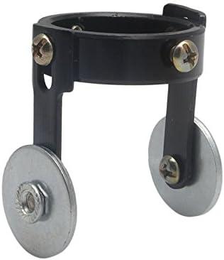 Rouleau de guide coupe Roue de guidage entretoise pour P80/Panasonic LGK100 60A-120A Noir