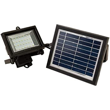 This Item 28 LED Solar Powered Outdoor Security Flood Light