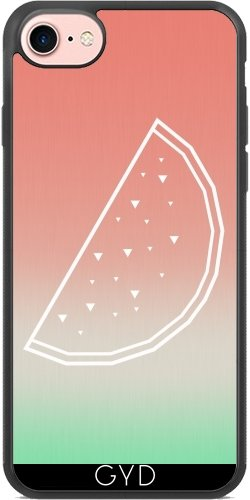 Coque pour Iphone 7 Plus / 8 Plus (5,5'') - Crâne Amérique by WonderfulDreamPicture