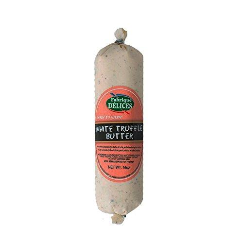White Truffle Butter - Pork Free - 16oz Log -