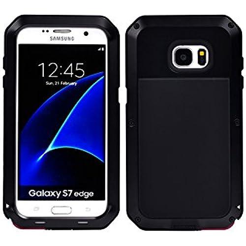 Samsung GALAXY s7 edge,SEISMIK Shockproof Dustproof Aluminum Alloy Metal Case For Samsung GALAXY s7 edge (black) Sales