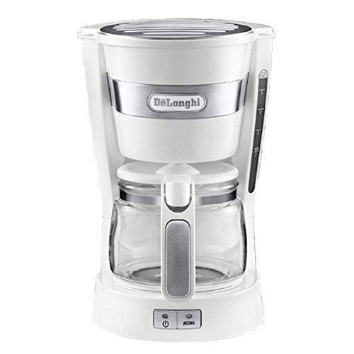 Delonghi Mini Drip Coffee Maker 5-Cup 0.65L ICM14011 (White) (49980a Hamilton Beach compare prices)