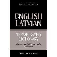 Theme-based dictionary British English - Latvian - 3000 words
