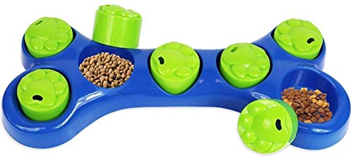 SmartChoice Dog Feeding Game Food Hidding Game Interactive Dog Bowl Dog Toy Helps Reduce Dog Weight 2