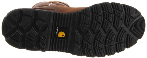 Carhartt Mens 11 Pollici Di Sicurezza Impermeabile Punta Wellington Bison Marrone