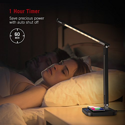 19% off a LED lamp with Qi-enabled wireless charger