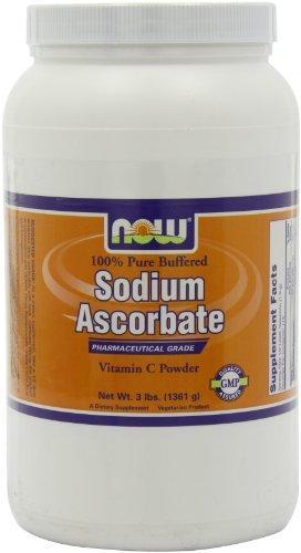 NOW  Sodium Ascorbate, 3-pound