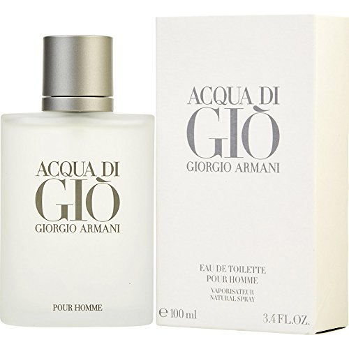 Acqua Di Gio 3.4 Fl. Oz. Eau De Toilette Spray Men by Giorgio - Armani Gio Men
