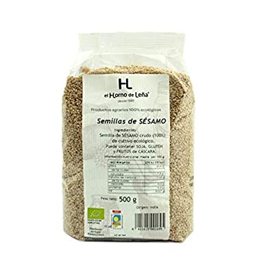Horno de Leña - Semillas de Sésamo Crudo Eco, 500 g