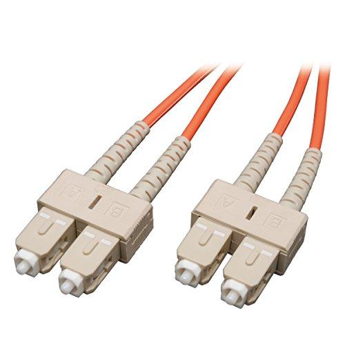 Tripp Lite Duplex Multimode 50/125 Fiber Patch Cable (SC/SC), 5M (16-ft.)(N506-05M)