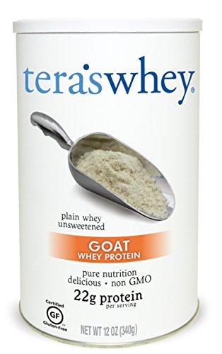 teraswhey Goat Whey Protein, Plain 12 oz