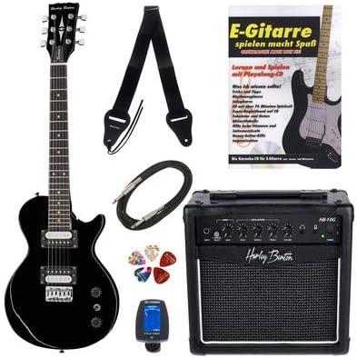 Kit completo de guitarra eléctrica para niños Harley Benton SC ...