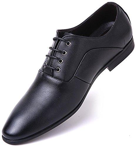 Margin Oxford - Dress Style Margin Oxfords, Black - Oxford, 9 D(M) US