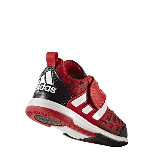 adidas Marvel Spider-Man Cf I, Sneakers Basses Mixte Enfant, Rouge (Escarl/Negbas/Ftwbla), 19 EU