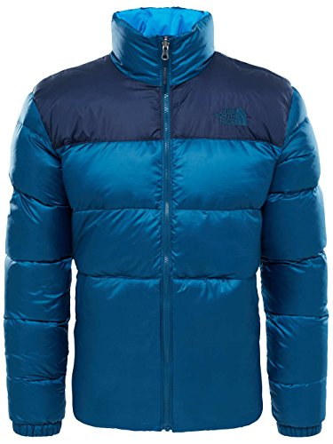 Nuptse Monterey nbsp;giacca Iii Face North Uomo The nbsp;– Blue qp4wX4