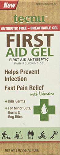 Tecnu First Aid Gel 2 Ounce