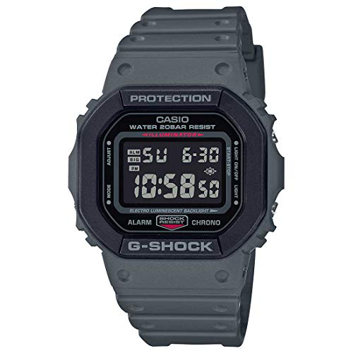 G-Shock Mens Quartz Watch, Digital Display and Resin Strap - DW-5610SU-8DR