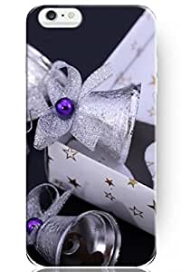 fashion case Special Design Pattern Hard Silver Bells for Apple iPhone 5s (5s.7 Inches) Case Christmas