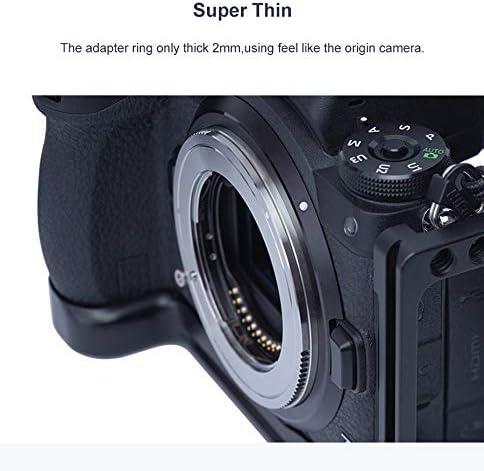 TECHART TZE-01 Auto Focus Adapter for Sony FE Mount Lens to Nikon Mount Camera Z6 Z7