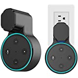 Echo Dot Wall Mount Hangers Stand Holder for Amazon Echo Dot 2nd,Improved The Shortcomings of Other Echo Dot Holder Mount Without Messy Wires or Screws - FELIGG -Black